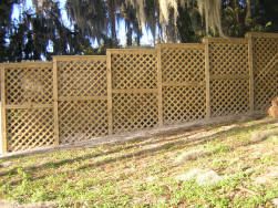 Wood Fence Installation Central Florida