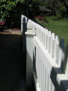 Custom Wood Picket Fence Orlando